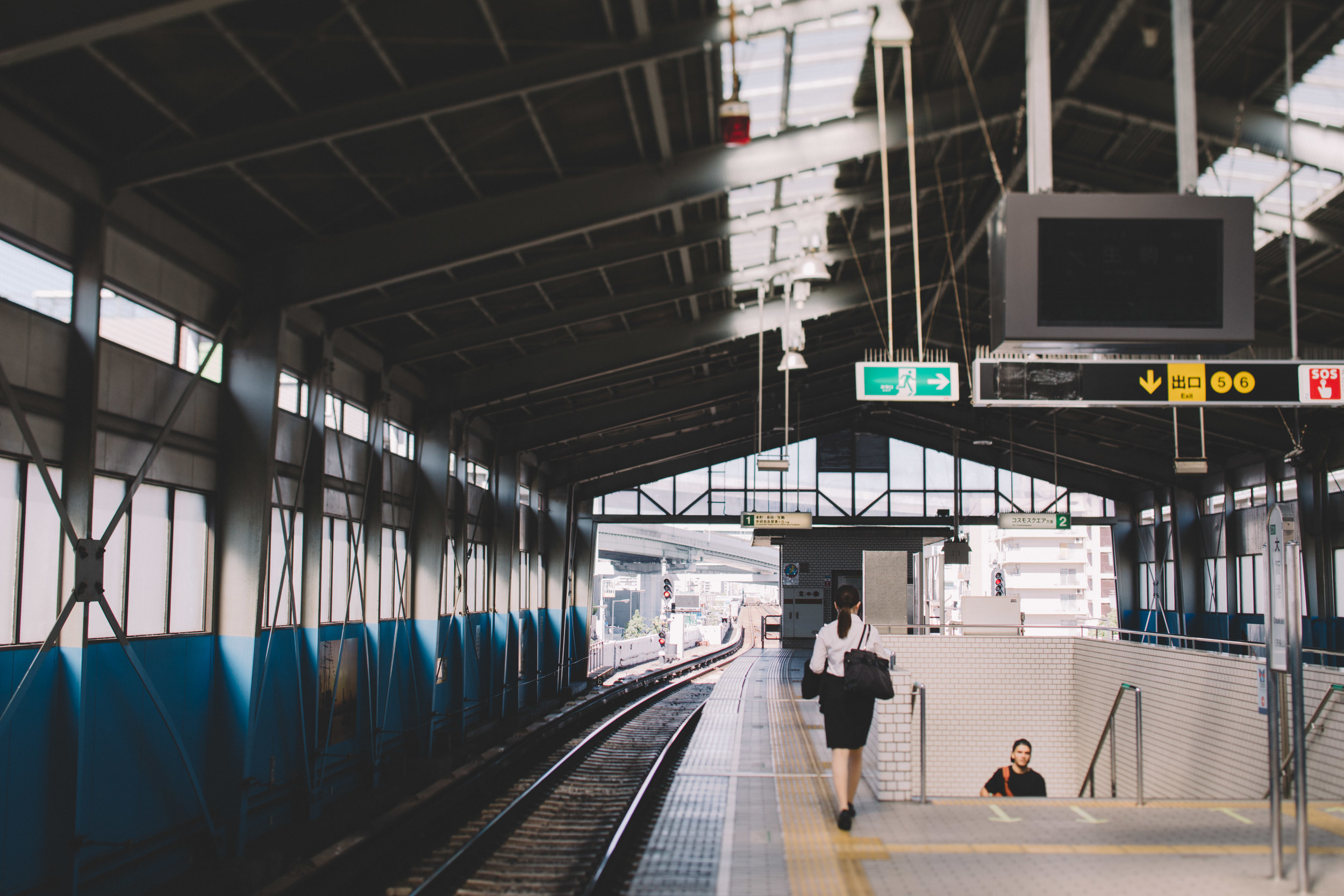 Japan, DC Photography, Dan Chern Photography, Bay Area Photography, Wedding Photography, Travel, Travel Photography, Tokyo, Kyoto, Odaiba, Osaka, Osaka Aquarium, Subway Station, Rail Station