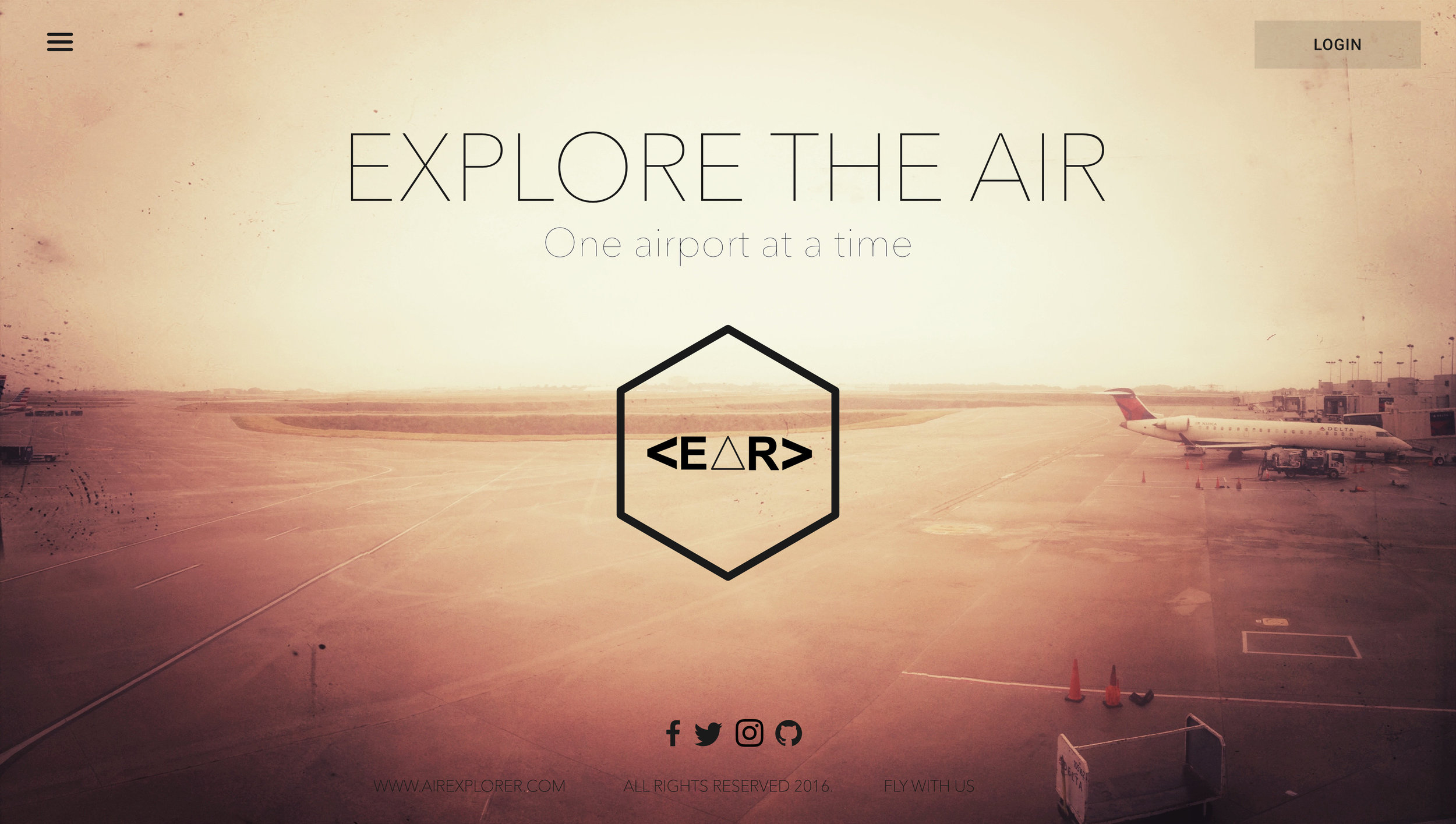Explore the Air Mockup