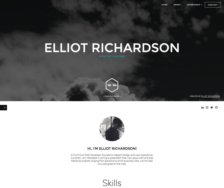 Rebuild & design of Elliot Richardson devlopment site