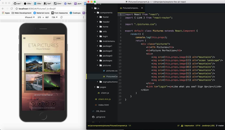 ETA Mockup App