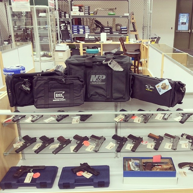 New range bags in stock! Galati, M&P, Glock and Bulldog.