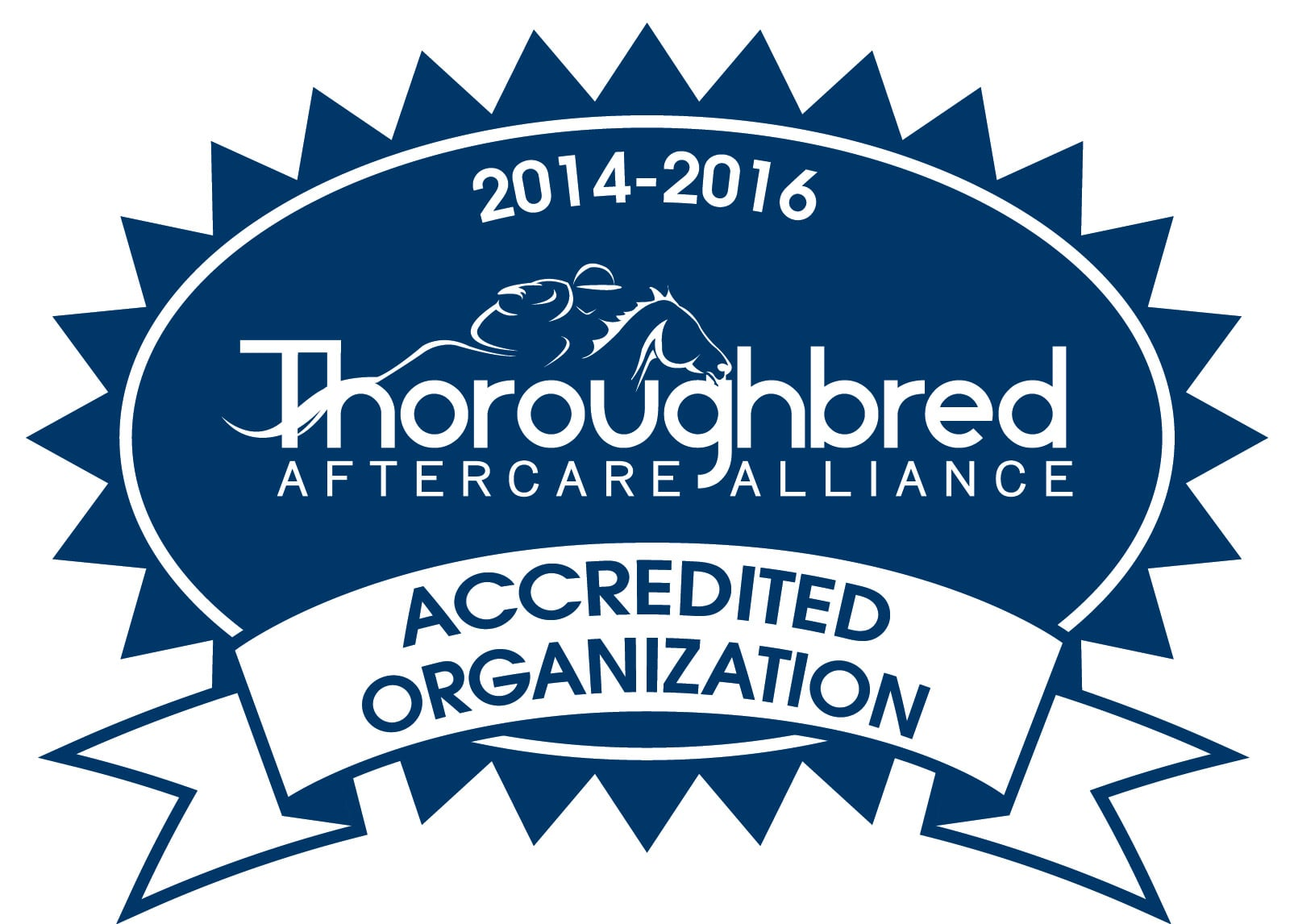 Finger Lakes Thoroughbred Adoption Program (FLTAP) is accredited with the Thoroughbred Aftercare Alliance (TAA).