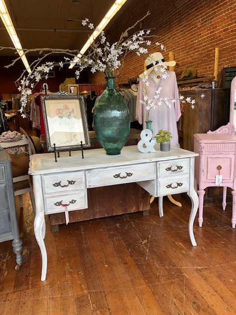 French Styled Chalk Painted Desk $250