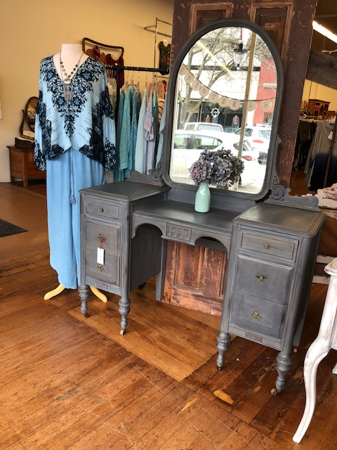 Classic Grey Vanity Dressing Vanity $395