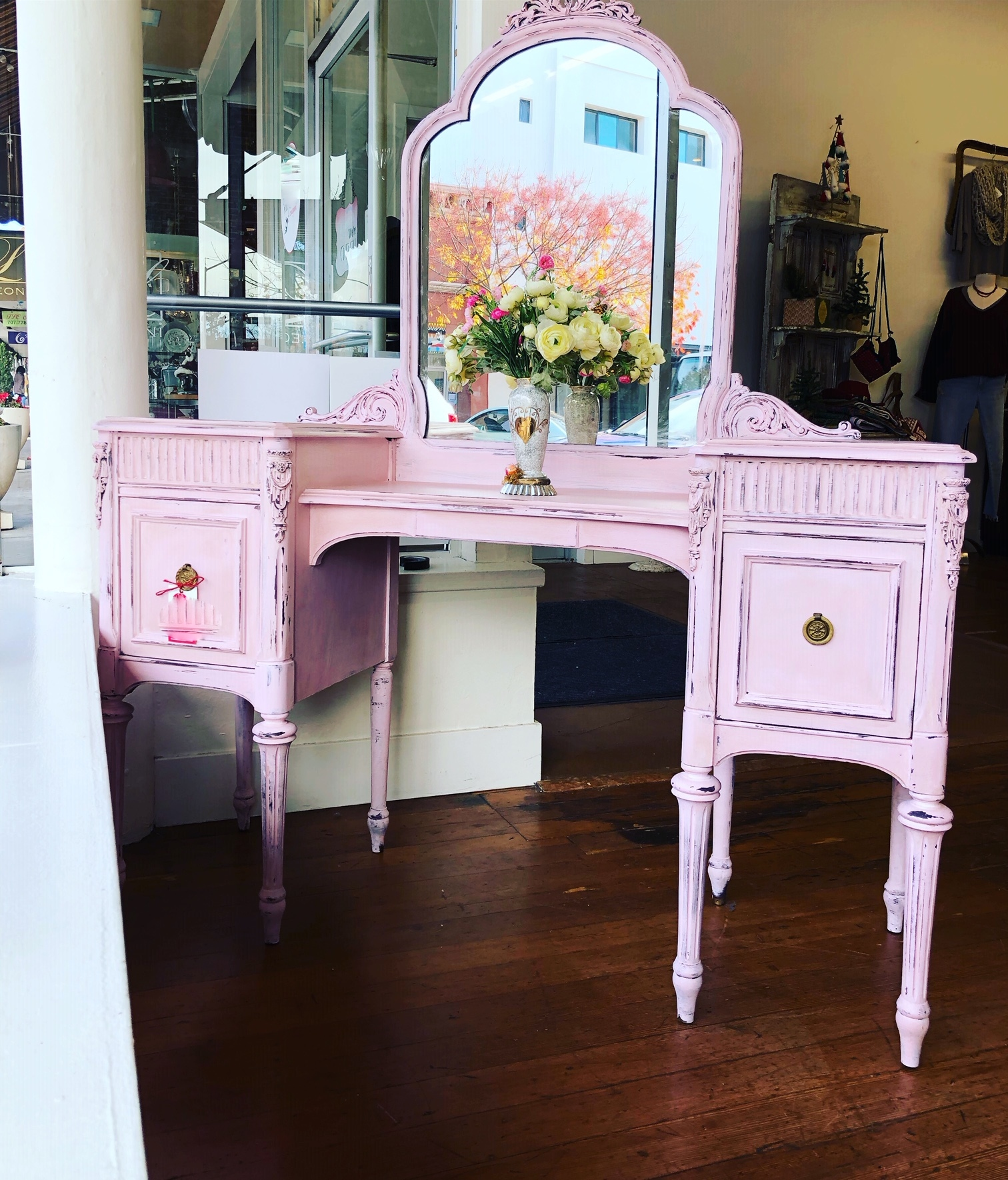 Millennial Pink Vanity Dressing Table - $395