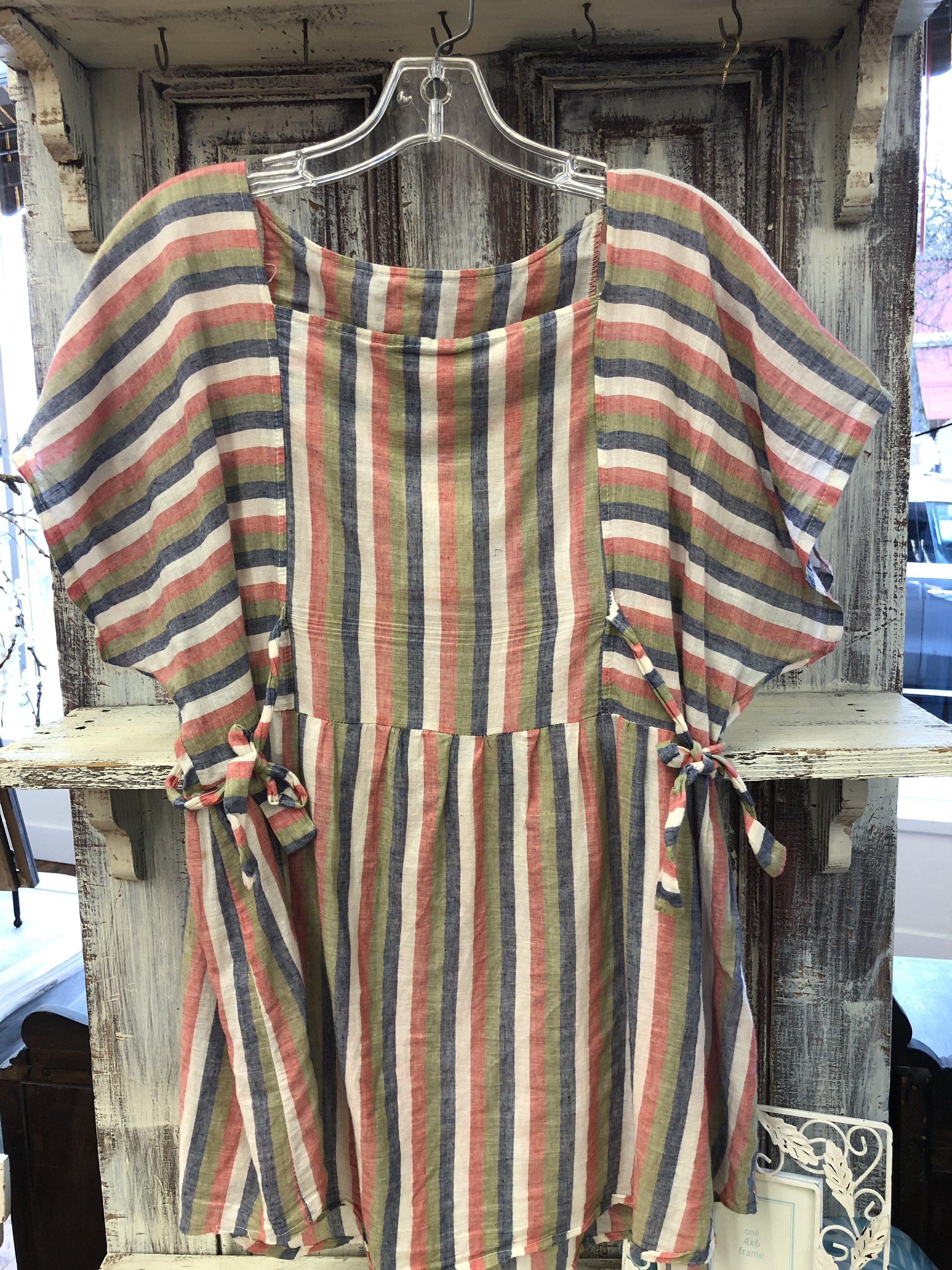 Pijika Striped Tie - M/L - $16.99