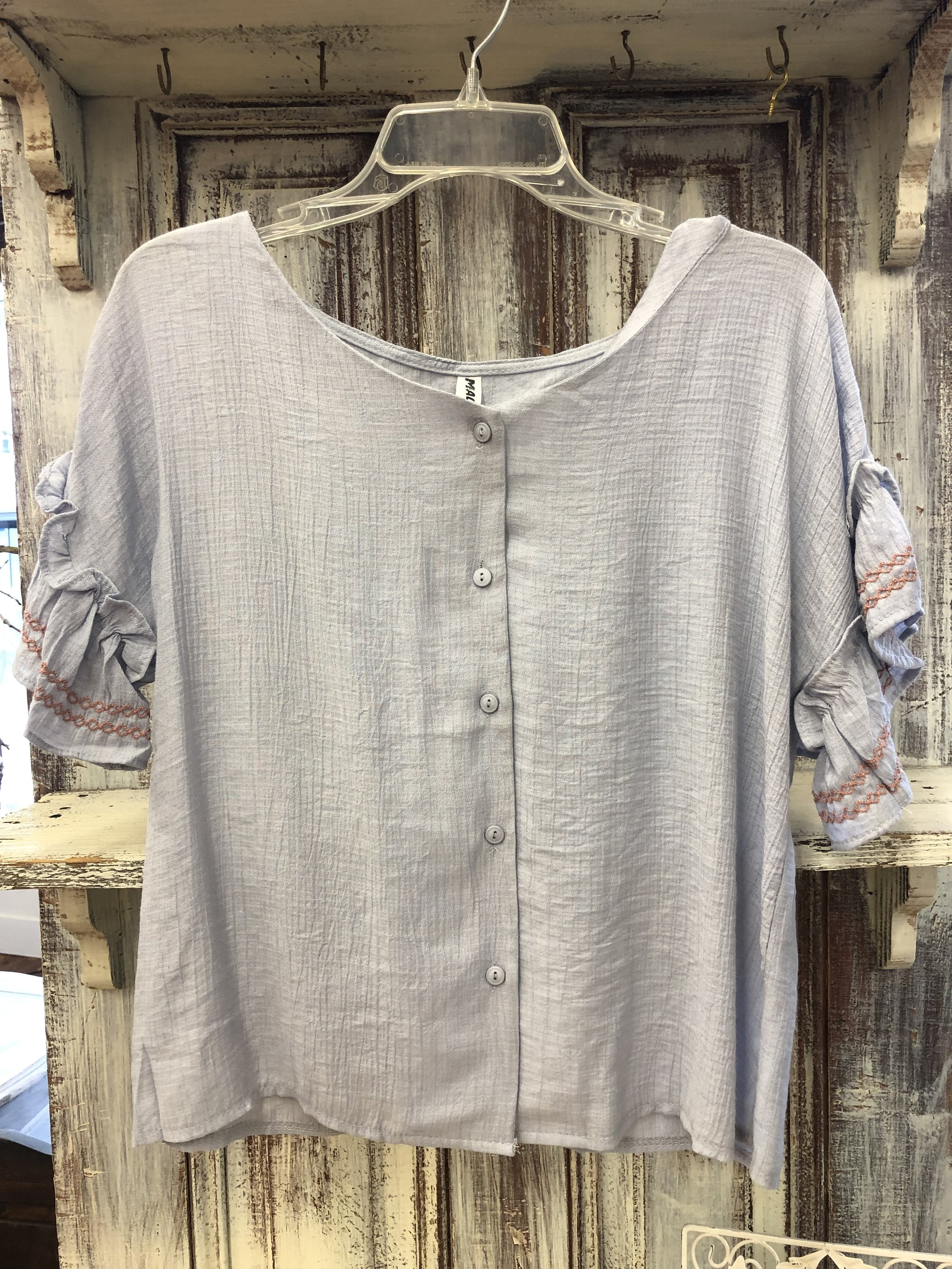 Malianni Embroidered - One Size-$27.99