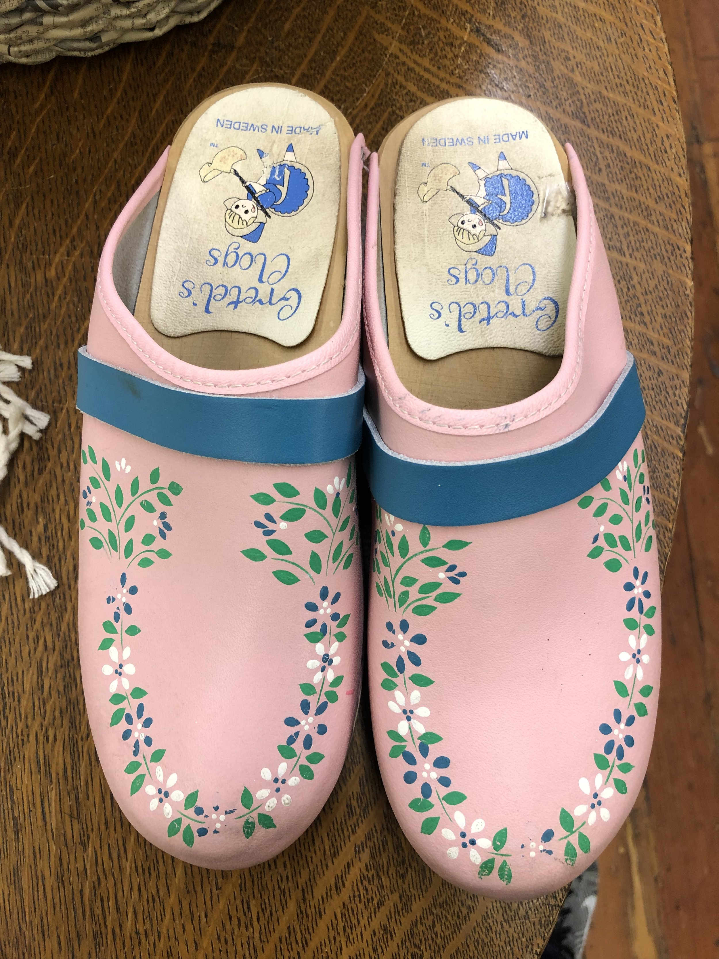 Gretel's Hand Painted Clog - 38 -$62.99