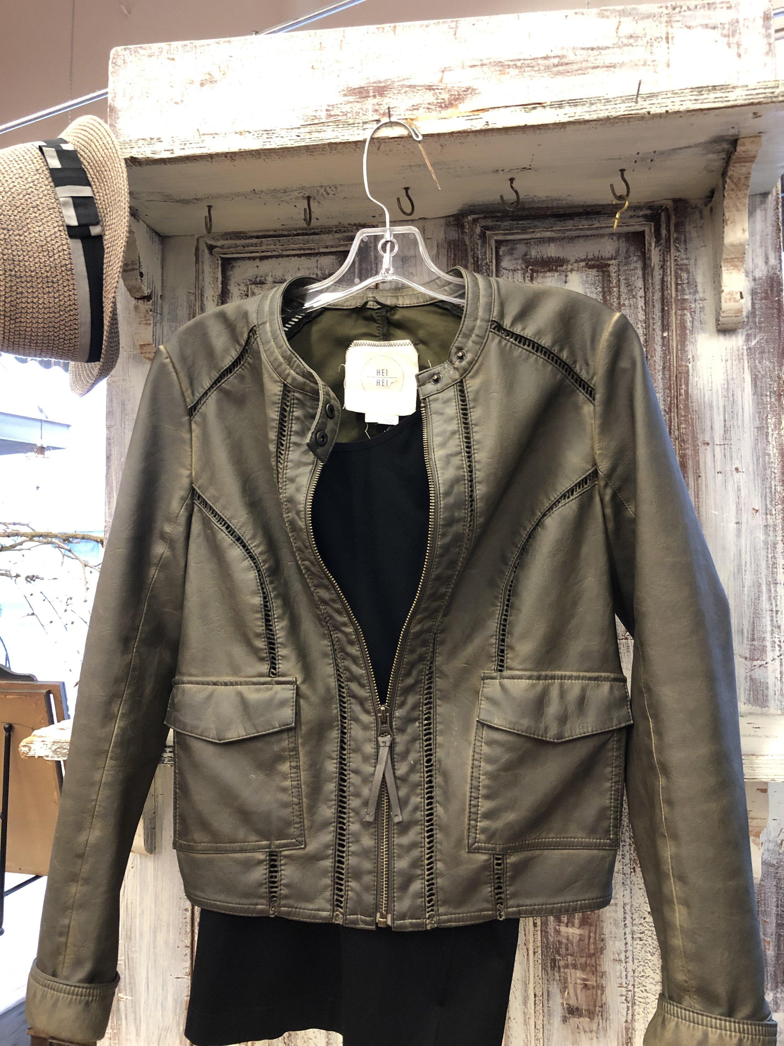 Hei Hei Moto Zip Jacket - S - 45.99