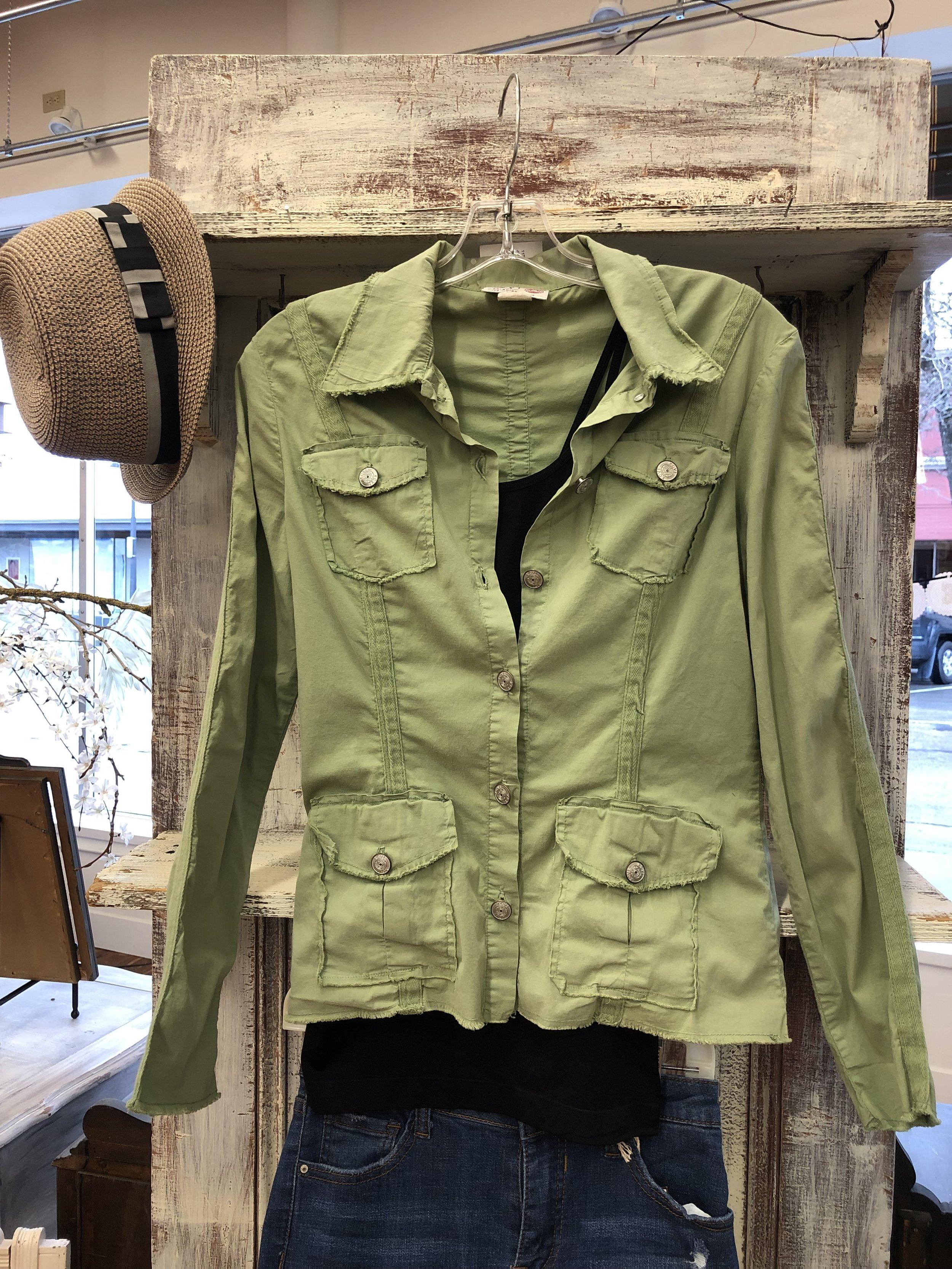 XCVI Green Jacket - M - $27.99