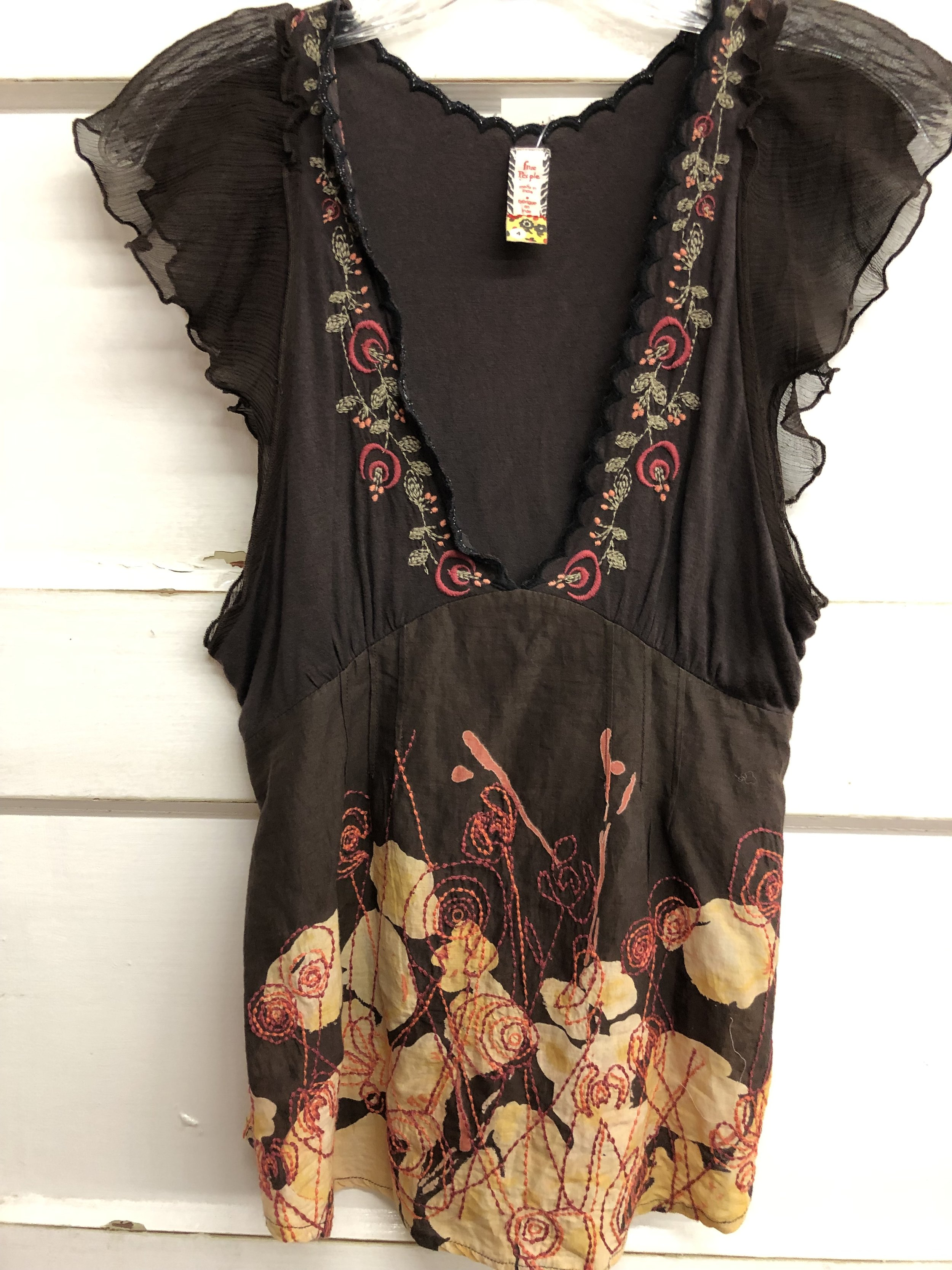 Free People Embroidered - 4 - $24.99