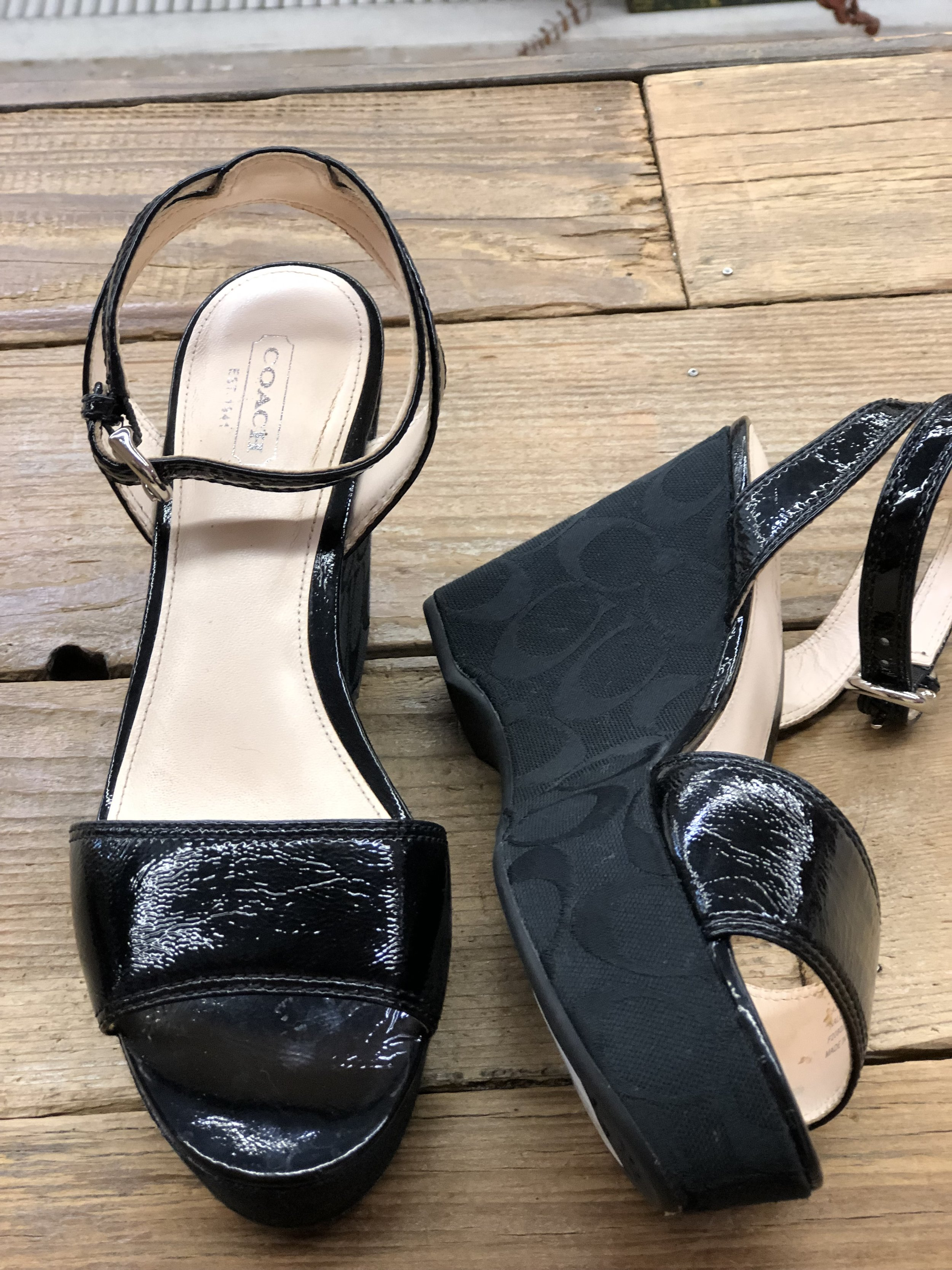 Coach Icon Wedge - 8 - $88