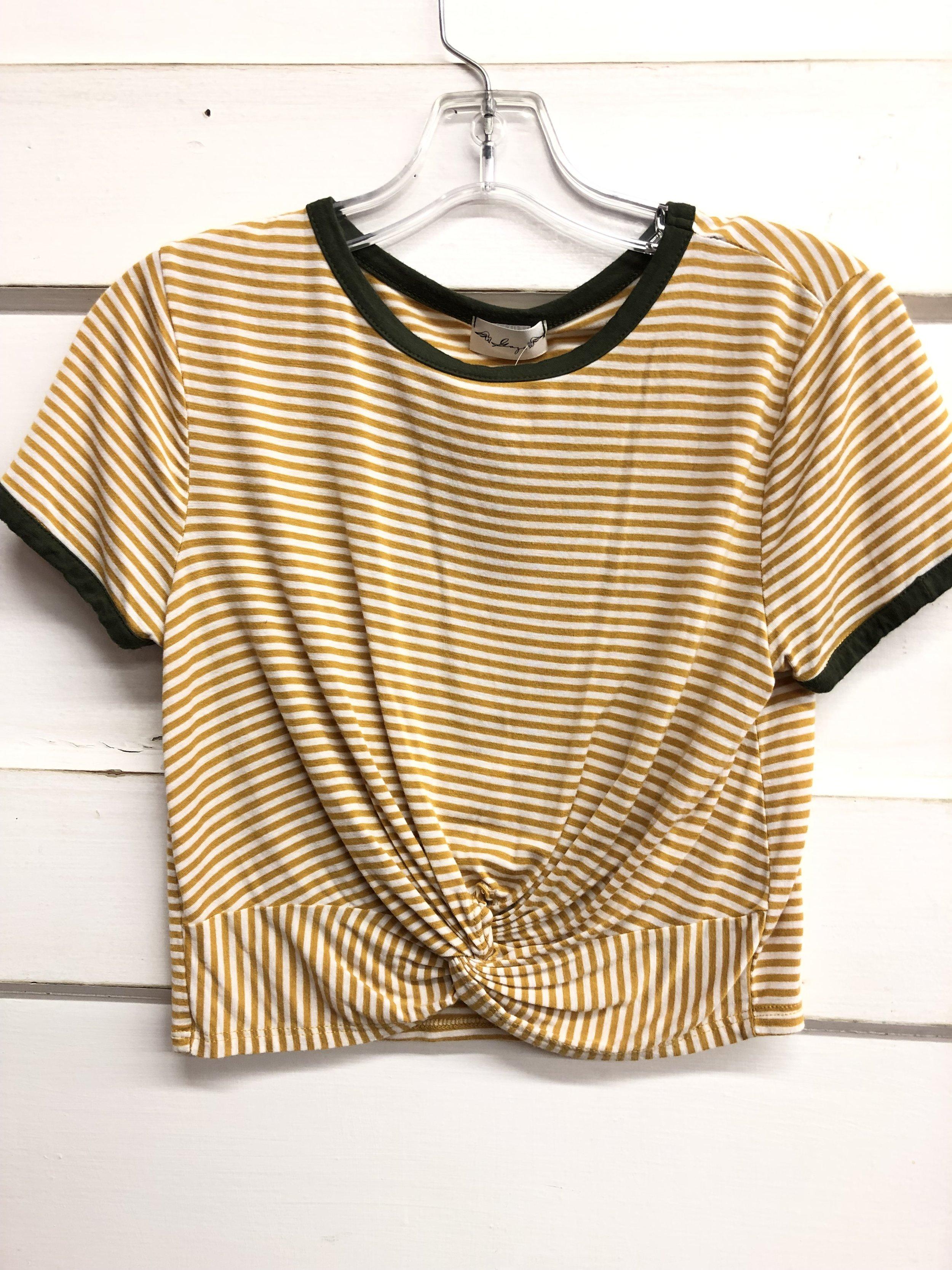 Scoop Spring Stripe - M - $15.99