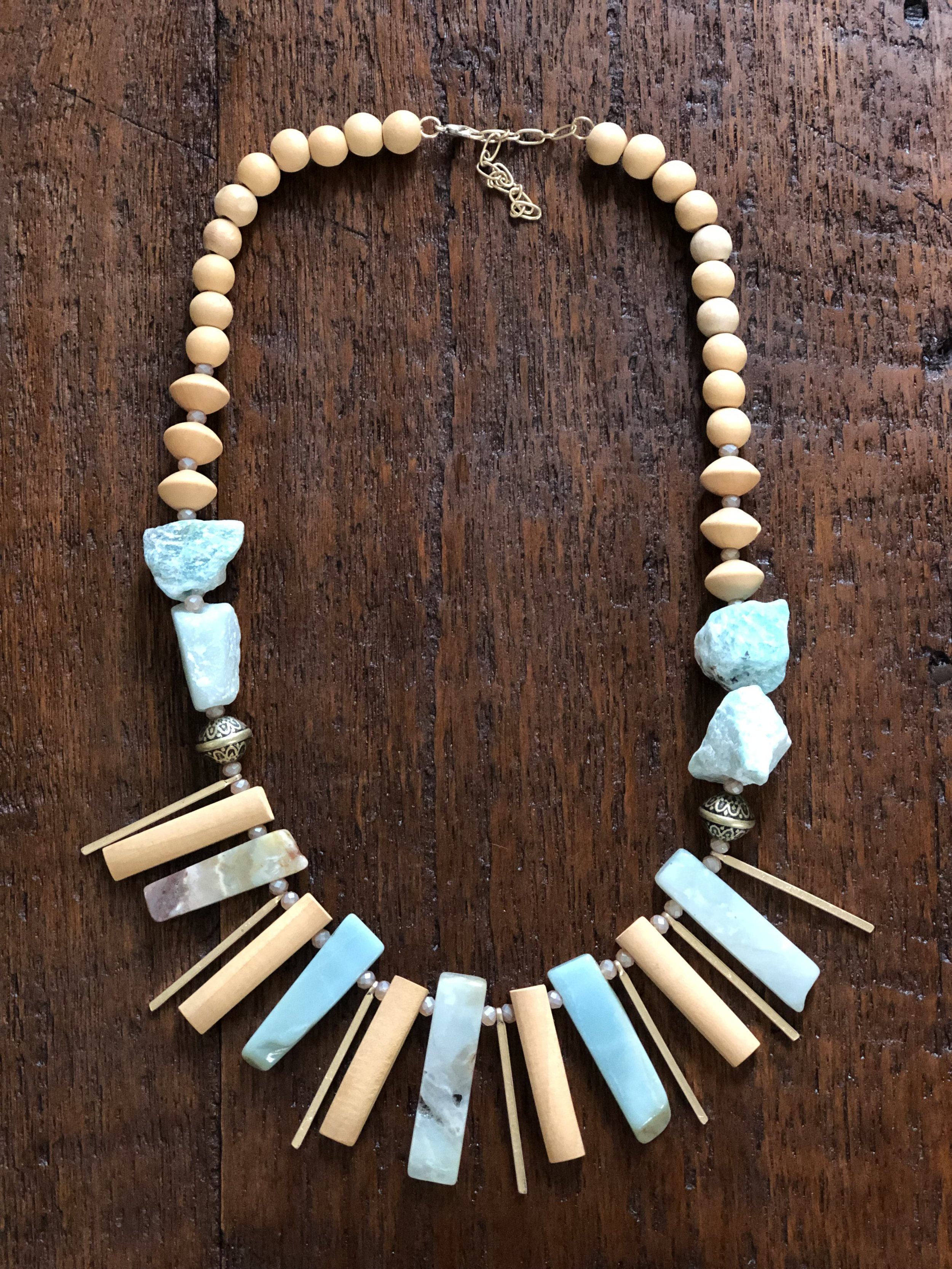 Woodstone Statement Necklace - $27.99