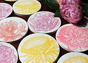 Floral Coasters - press image 2
