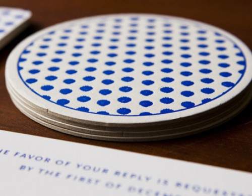 Painted Dots Coaster