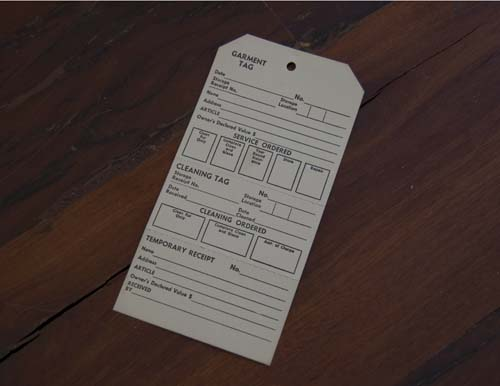 garment tag