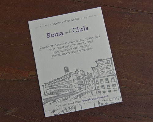 Chris and Roma invite