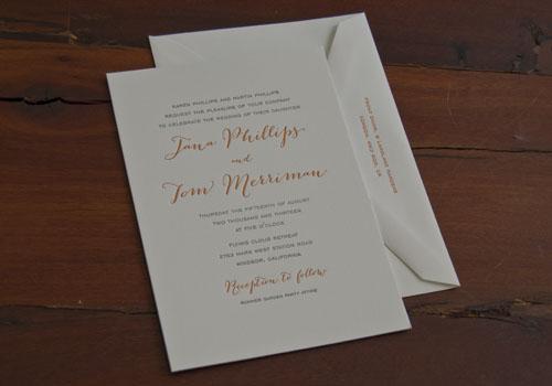 Jana Main Invite