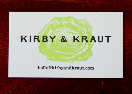 kirby-kraut-green-cabbage-letterpress-business-card