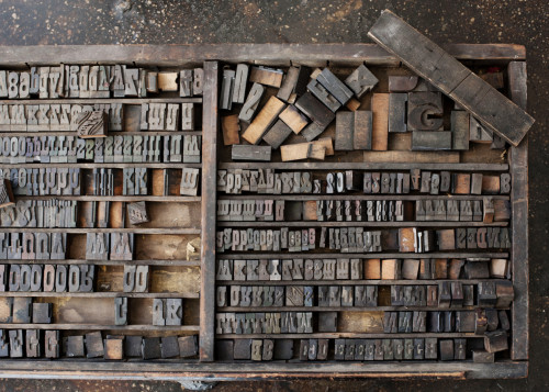 sesame-letterpress-woodtype-antique-letters