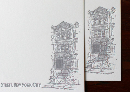nyc-new-york-brownstone-illustration-letterpress-custom-stationery