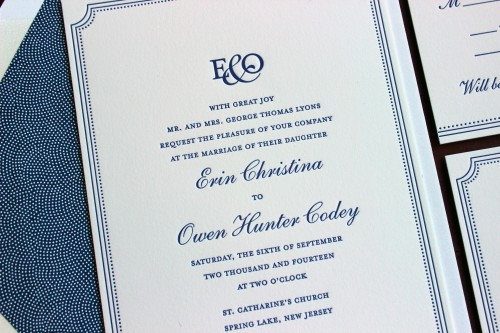 navy-letterpress-wedding-invitation