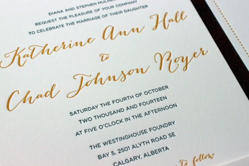 gold-bombshell-script-letterpress-wedding-invite