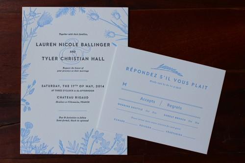 blue-floral-letterpress-wedding-invite-rsvp