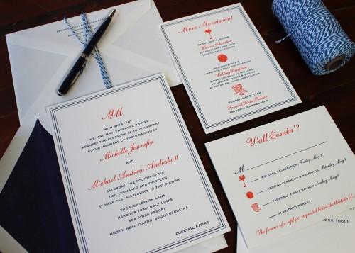 monogram-summer-letterpress-wedding-invitation