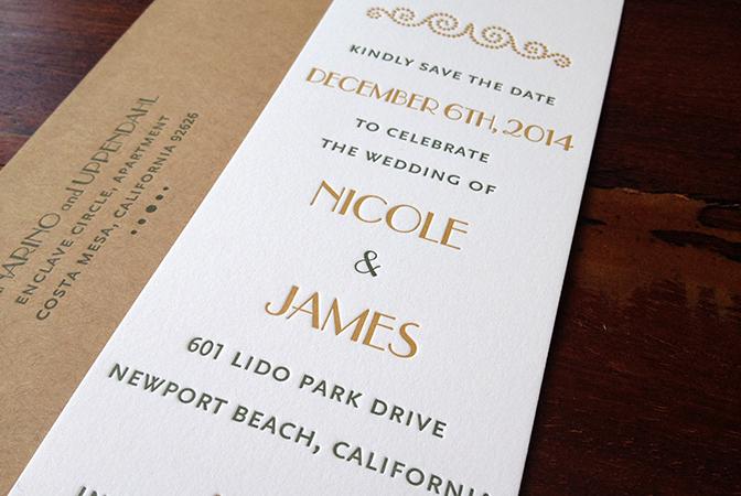 gold-green-letterpress-save-the-date-bookmark-sesame