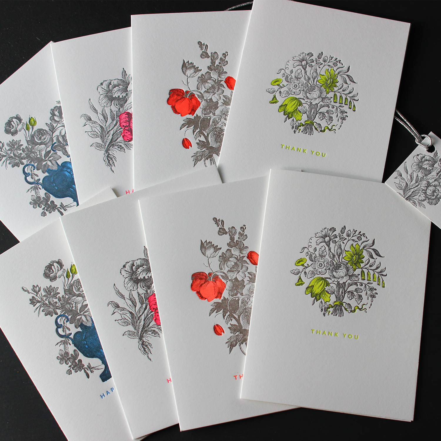 Floral-Bouquet-Letterpress-Greeting-Set