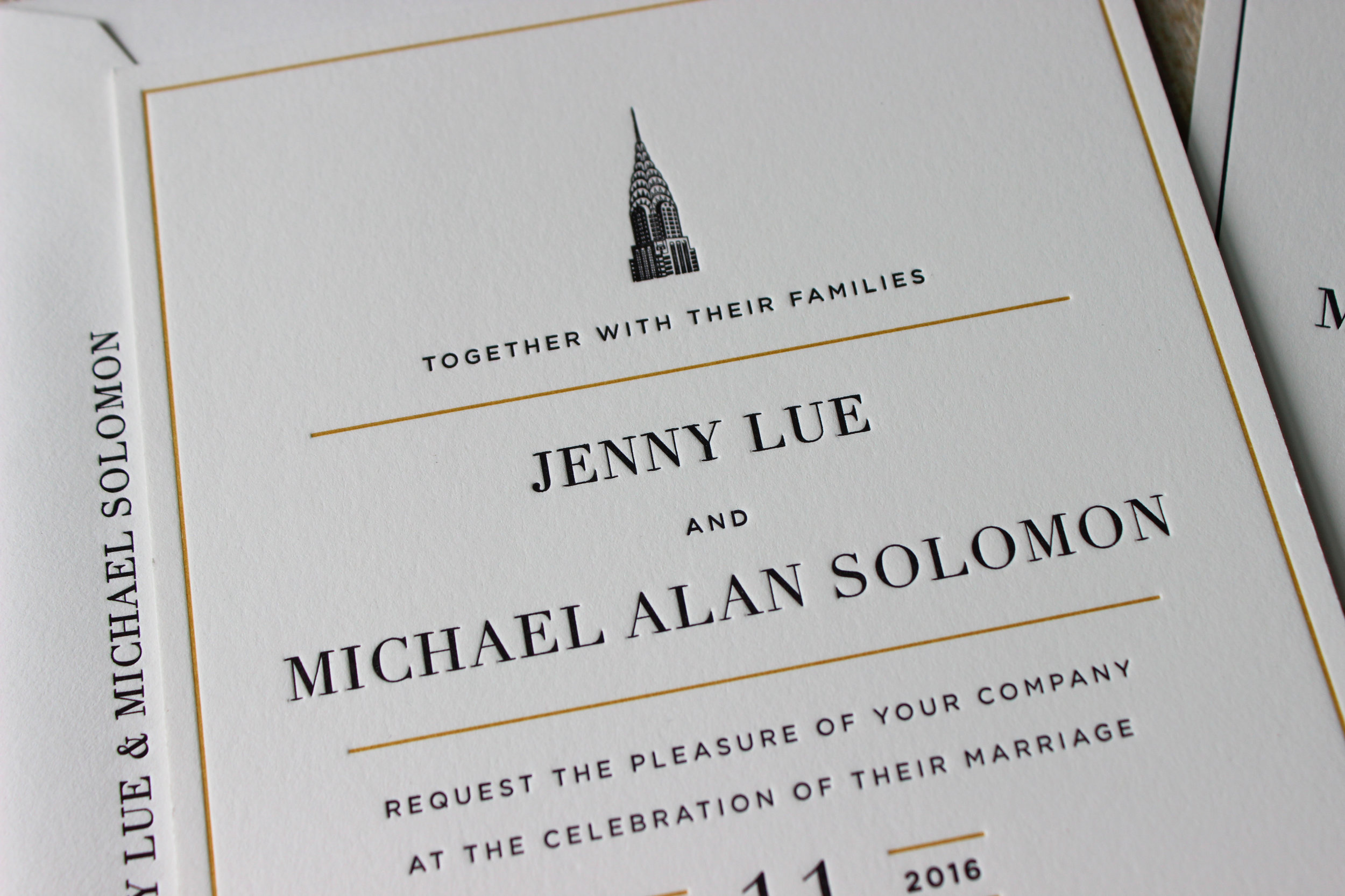 Black-Gold-Vintage-NYC-Letterpress-Wedding-Invitation