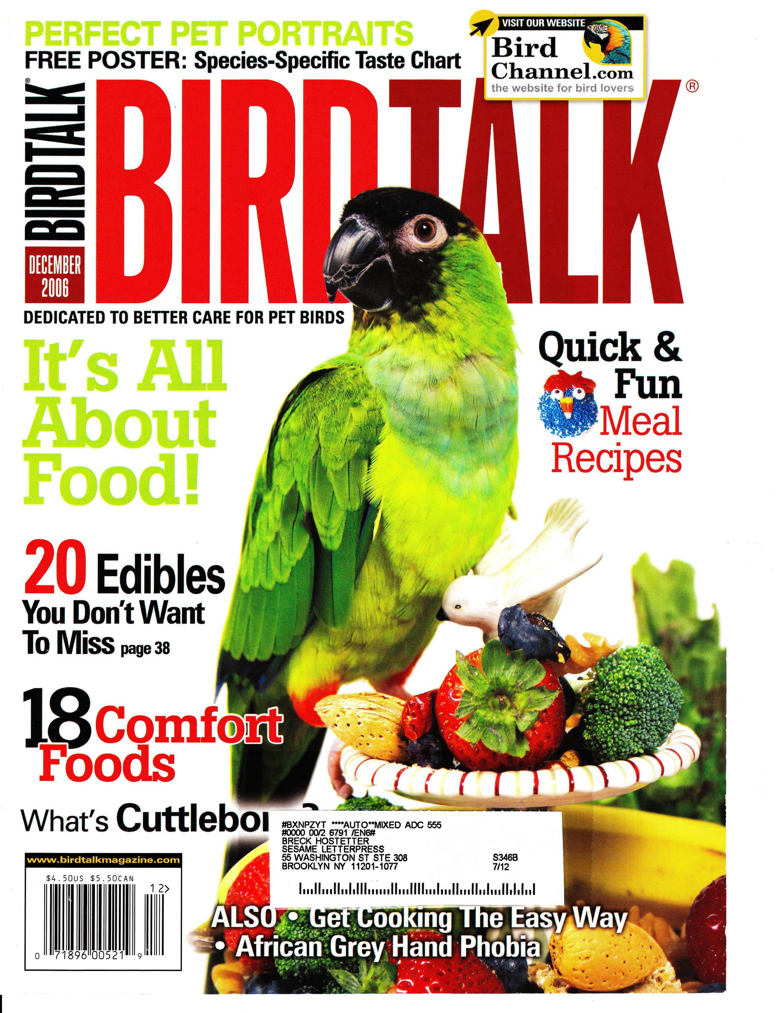 2006 December BirdTalk.jpg