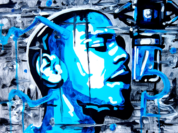 3.14.13  > Protege > 24x18 inch Acrylic Painting on canvas > CLICK IMAGE TO PURCHASE