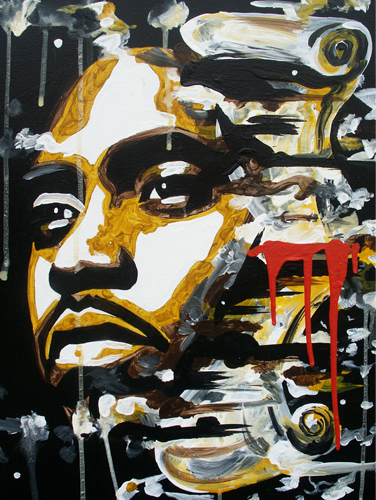7.10.13  > It Was Written > 18x24 inch Acrylic Painting on canvas > CLICK IMAGE TO PURCHASE