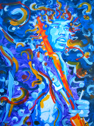 10.17.12  > Who Knows > 18x24 inch Acrylic Painting on canvas > CLICK IMAGE TO PURCHASE