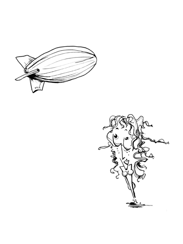 12.14.13  > Zeppelin > Mendacity > 8.5x11 inch Pen Drawing on paper > CLICK IMAGE TO PURCHASE