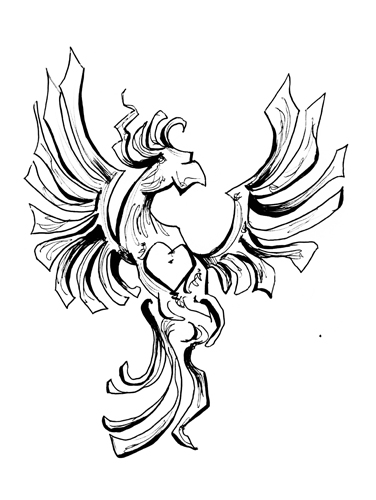 12.15.13  > Belief In The Phoenix > Mendacity > 8.5x11 inch Pen Drawing on paper > CLICK IMAGE TO PURCHASE