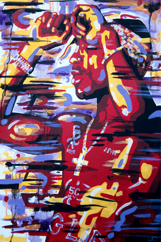 3.15.13  > West Coast Vision > 24x36 inch Acrylic Painting on canvas > CLICK IMAGE TO PURCHASE