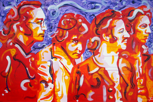 11.19.12  > Voices > 36x24 inch Acrylic Painting on canvas >  NOT AVAILABLE FOR PURCHASE
