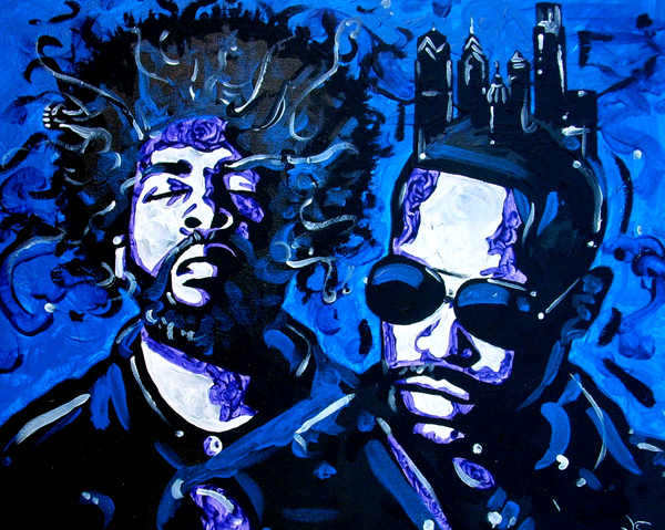 11.20.12  > Philly > The City Series > 20x16 inch Acrylic Painting on canvas > CLICK IMAGE TO PURCHASE