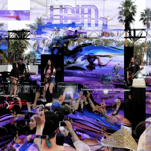 4.13.14  > Haim > Coachella > Graphic Design > CLICK IMAGE TO PURCHASE