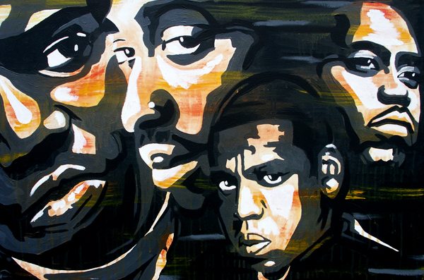 6.2.12  > Iconic Flow > 36x24 inch Acrylic Painting on canvas > NOT AVAILABLE FOR PURCHASE
