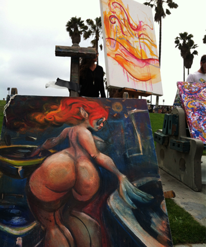 5.14.12  > Lovely Meeting Lovely > Photo > Venice Beach, CA. > NOT AVAILABLE FOR PURCHASE