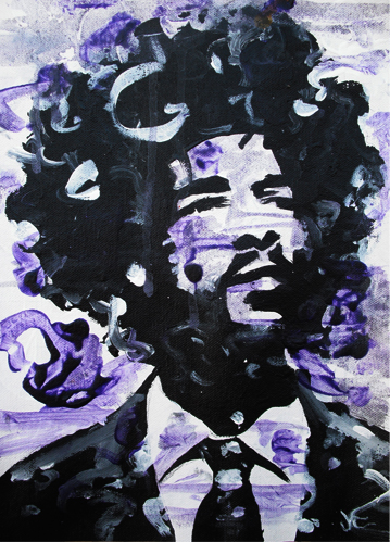 8.2.11  > ?uest To Breathe > 9x12 inch Acrylic Painting on canvas > NOT AVAILABLE FOR PURCHASE