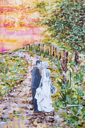 11.14.14  > Swept Away > 24x36 inch Acrylic Painting on canvas > CLICK IMAGE TO PURCHASE