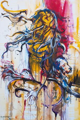 Le Femelle Monde II > 24x36 inch on canvas