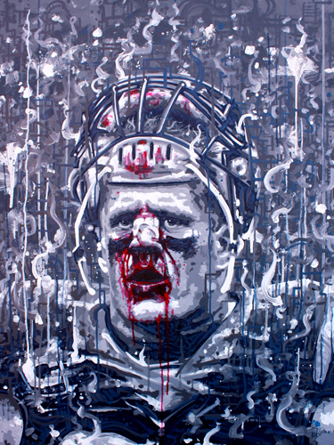 12.10.15  > The End > 36x48 inch Acrylic Painting on canvas > CLICK IMAGE TO PURCHASE