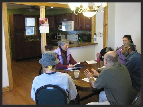 Weekly house meeting